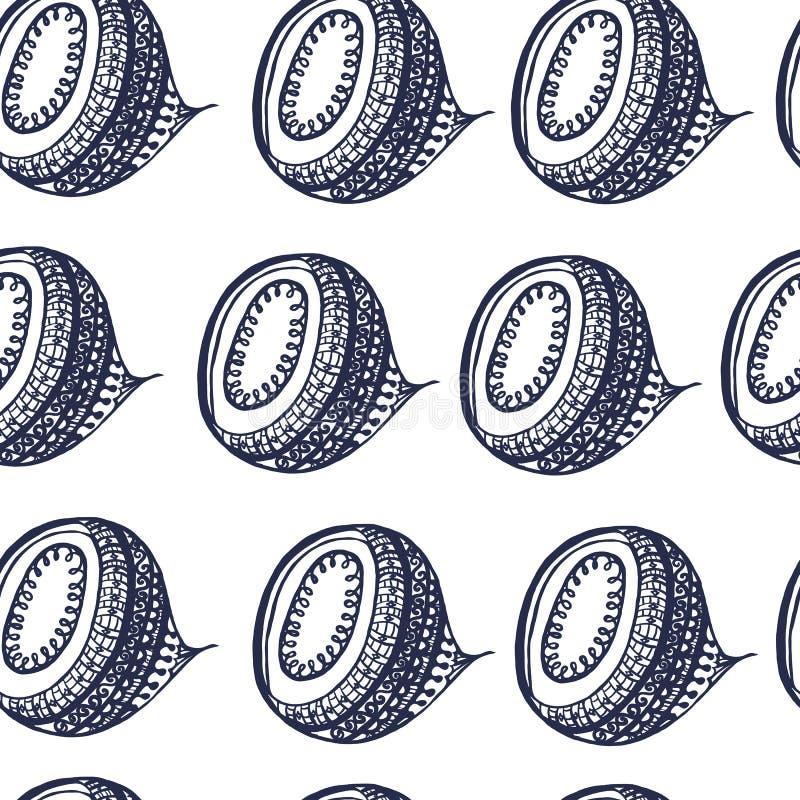 Άνευ ραφής άσπρο μπλε υποβάθρου σχεδίων, περίληψη, σχέδιο, διακόσμηση, ελεύθερη απεικόνιση δικαιώματος