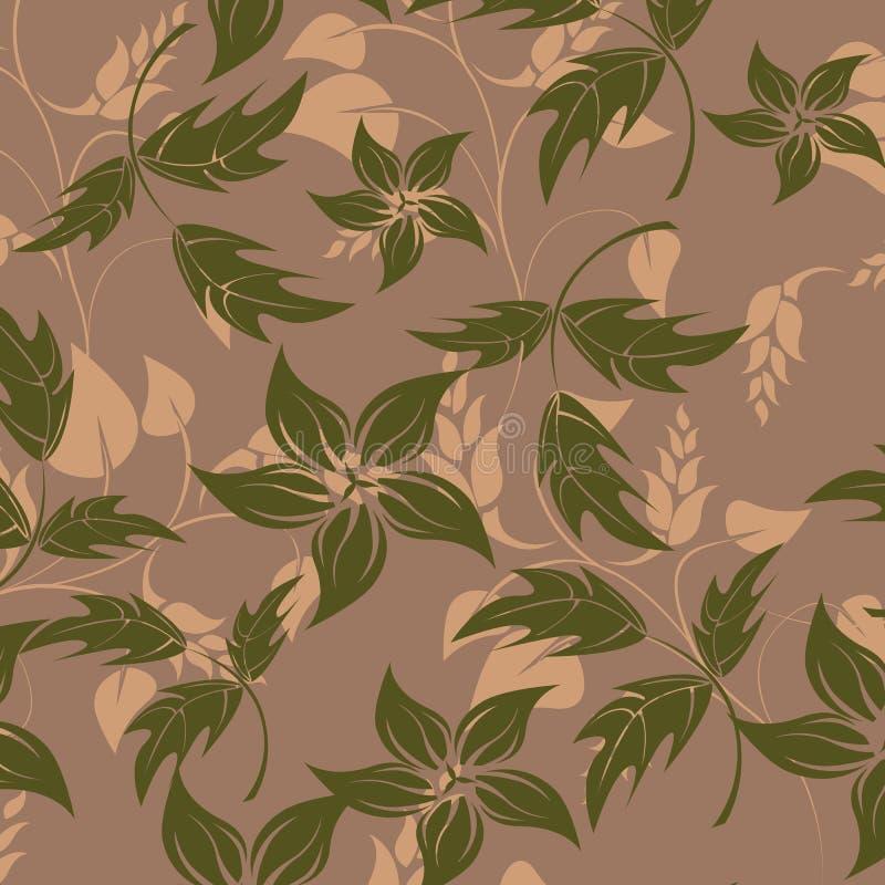 Άνευ ραφής απεικόνιση λουλουδιών ανοίξεων απεικόνιση αποθεμάτων