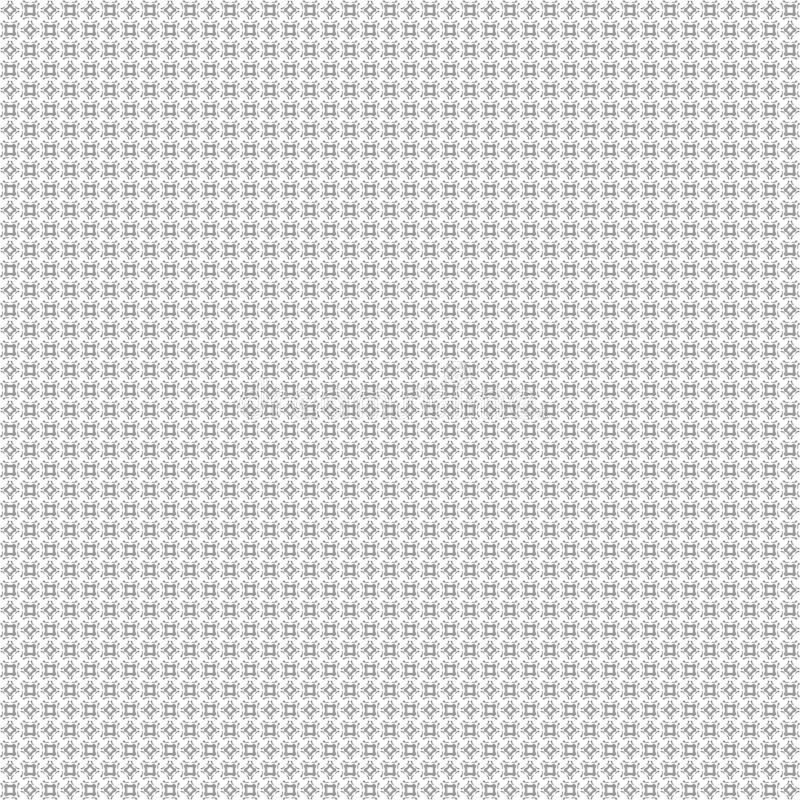 Άνευ ραφής αφηρημένα μαύρα άσπρα fractal σύστασης σχέδια ελεύθερη απεικόνιση δικαιώματος