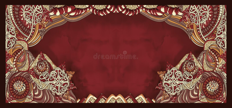 Άνευ ραφής αφηρημένο εκλεκτής ποιότητας υπόβαθρο watercolor απεικόνιση αποθεμάτων