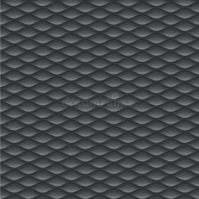 Άνευ ραφής γεωμετρικά σχέδια σχεδίου κλίμακας αφηρημένα καθορισμένα το υπόβαθρο προτύπων σχεδίου τη διανυσματική απεικόνιση απεικόνιση αποθεμάτων