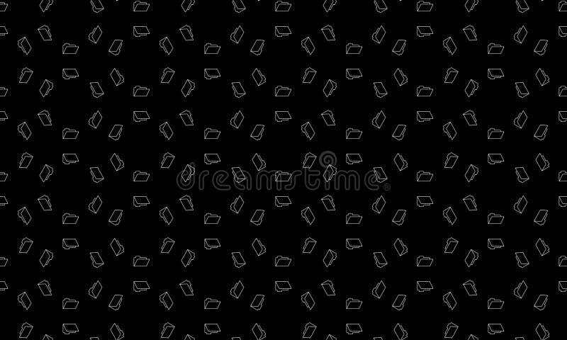 Άνευ ραφής γεωμετρικό διανυσματικό υπόβαθρο, απλό γραπτό διανυσματικό σχέδιο λωρίδων, ακριβές, editable και χρήσιμο υπόβαθρο για απεικόνιση αποθεμάτων