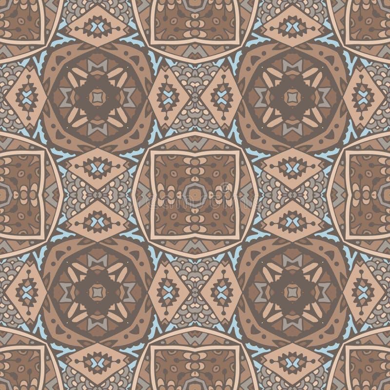 Άνευ ραφής γεωμετρικό μωσαϊκό Absract ελεύθερη απεικόνιση δικαιώματος