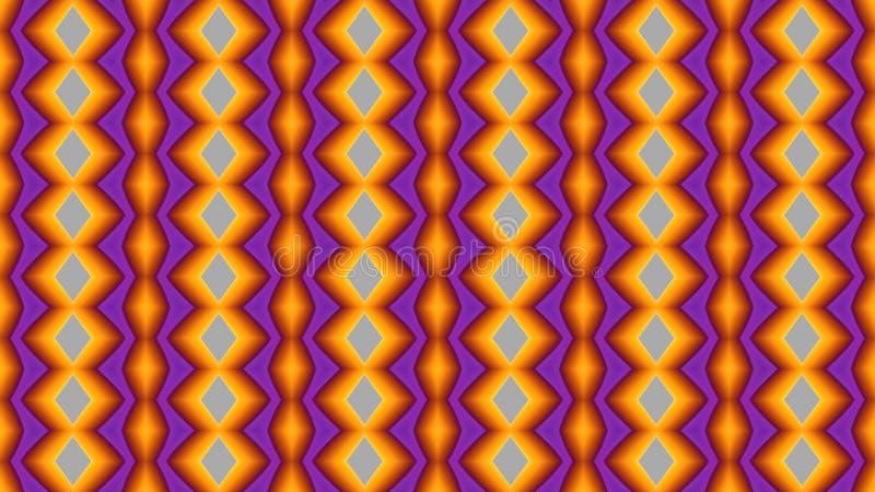 Άνευ ραφής γεωμετρικό πολύχρωμο φωτεινό σχέδιο Υπόβαθρο για το δ απεικόνιση αποθεμάτων
