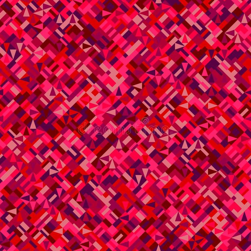 Άνευ ραφής γεωμετρικό υπόβαθρο σχεδίων - αφηρημένος διανυσματικός γραφικός απεικόνιση αποθεμάτων
