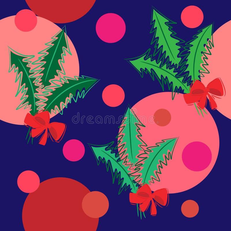 άνευ ραφής δέντρο σύστασης διανυσματική απεικόνιση