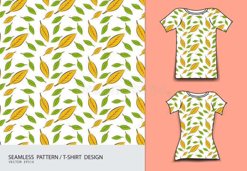 Άνευ ραφής διανυσματική απεικόνιση σχεδίων, σχέδιο μπλουζών, σύσταση υφάσματος, ένδυση μόδας, ενδυμασία ελεύθερη απεικόνιση δικαιώματος