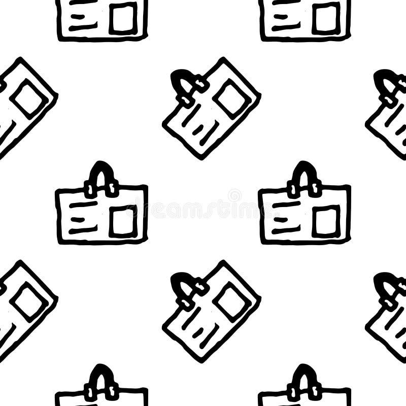 Άνευ ραφής εικονίδιο διακριτικών doodle σχεδίων Handdrawn r Σύμβολο σημαδιών Στοιχείο διακοσμήσεων E ελεύθερη απεικόνιση δικαιώματος