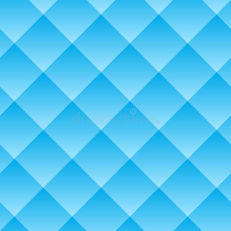 άνευ ραφής διάνυσμα προτύπων Ο γεωμετρικός όγκος με ένα σχέδιο κλίσης Μπλε γεωμετρικό ουδέτερο υπόβαθρο διανυσματική απεικόνιση