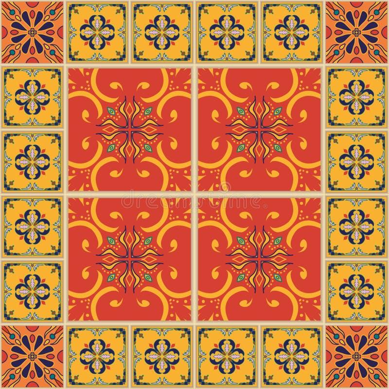 άνευ ραφής διάνυσμα σύστα&sigma Όμορφο χρωματισμένο σχέδιο για το σχέδιο και μόδα με τα διακοσμητικά στοιχεία διανυσματική απεικόνιση