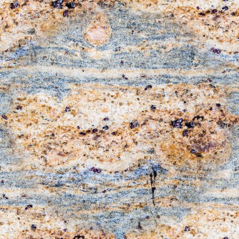 Άνευ ραφής διακοσμητικό γκρίζος-καφετί μάρμαρο σύσταση, υπόβαθρο, γεωλογία στοκ εικόνες