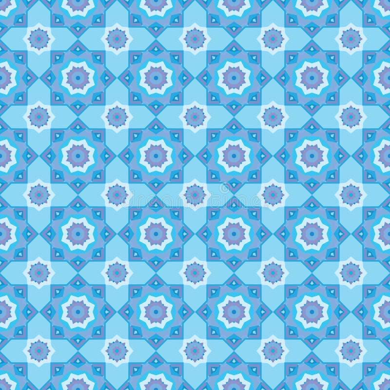 Download Άνευ ραφής διακοσμητικό υπόβαθρο με το σχέδιο μωσαϊκών Απεικόνιση αποθεμάτων - εικονογραφία από εσωτερικός, ύφος: 62723654