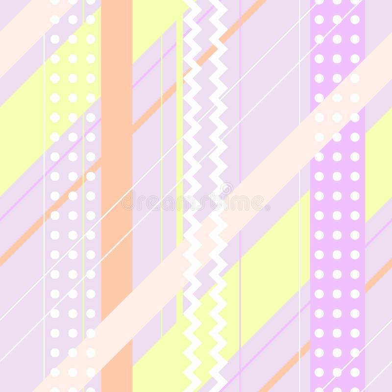 Άνευ ραφής διανυσματικό γεωμετρικό σχέδιο διανυσματική απεικόνιση