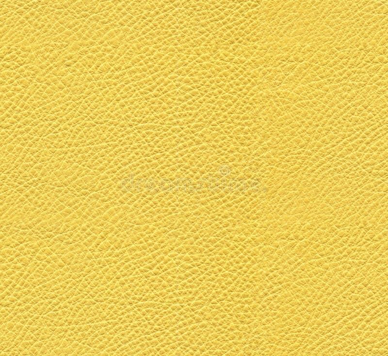 Άνευ ραφής κίτρινη σύσταση δέρματος στοκ εικόνα με δικαίωμα ελεύθερης χρήσης