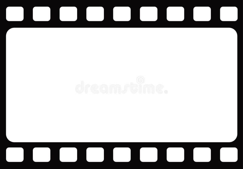 Άνευ ραφής κενό υπόβαθρο προτύπων πλαισίων ταινιών tranitional αναδρομικό διανυσματική απεικόνιση