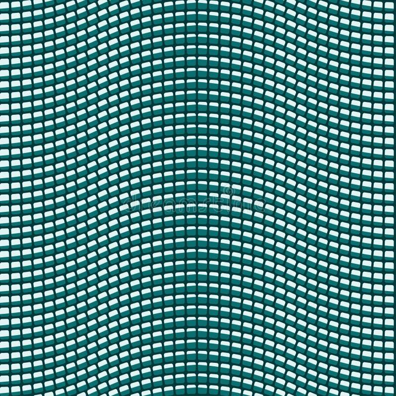άνευ ραφής κεραμωμένα κύματα διανυσματική απεικόνιση