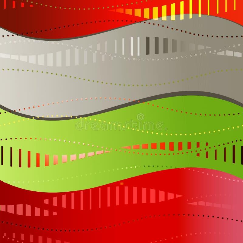 άνευ ραφής κύματα απεικόνιση αποθεμάτων