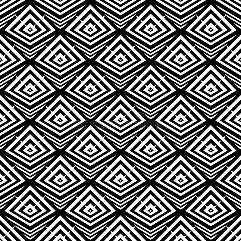 Download Άνευ ραφής μονοχρωματικό γεωμετρικό σχέδιο σχεδίου Διανυσματική απεικόνιση - εικονογραφία από γεωμετρικός, σχέδιο: 62715731