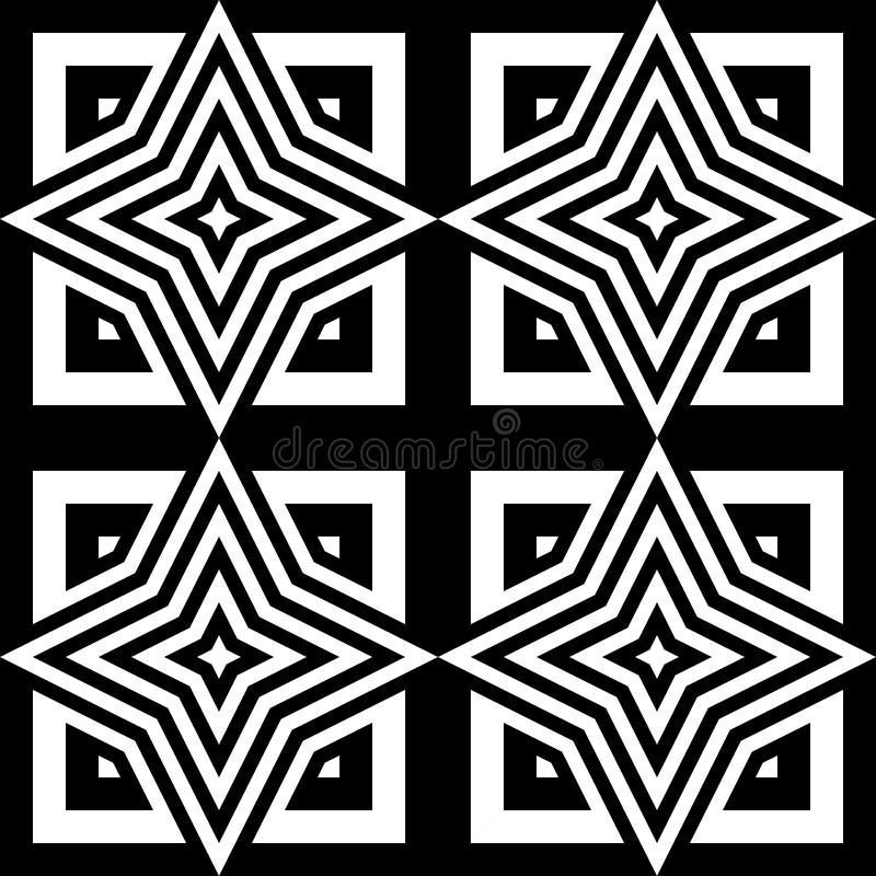 Download Άνευ ραφής μονοχρωματικό γεωμετρικό σχέδιο σχεδίου Διανυσματική απεικόνιση - εικονογραφία από ανασκόπησης, διάνυσμα: 62717717