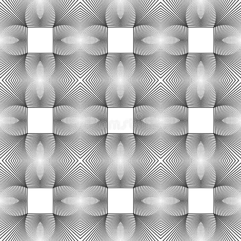 Download Άνευ ραφής μονοχρωματικό γεωμετρικό σχέδιο σχεδίου Διανυσματική απεικόνιση - εικονογραφία από seamless, ανασκόπησης: 62717742