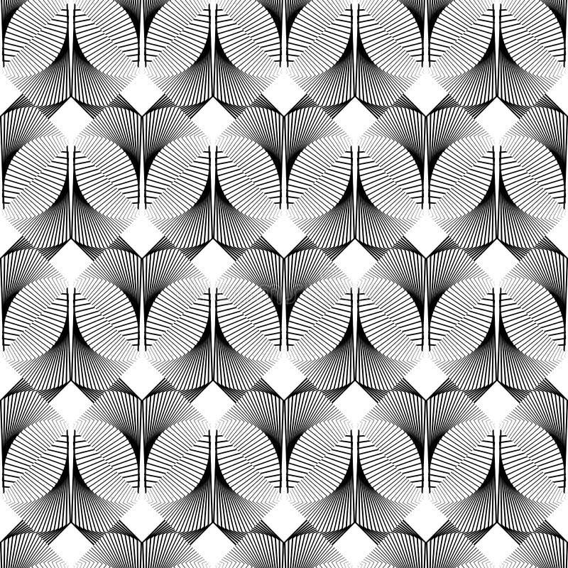 Download Άνευ ραφής μονοχρωματικό διακοσμητικό σχέδιο σχεδίου Διανυσματική απεικόνιση - εικονογραφία από δίκτυο, αρχαιολόγων: 62717010