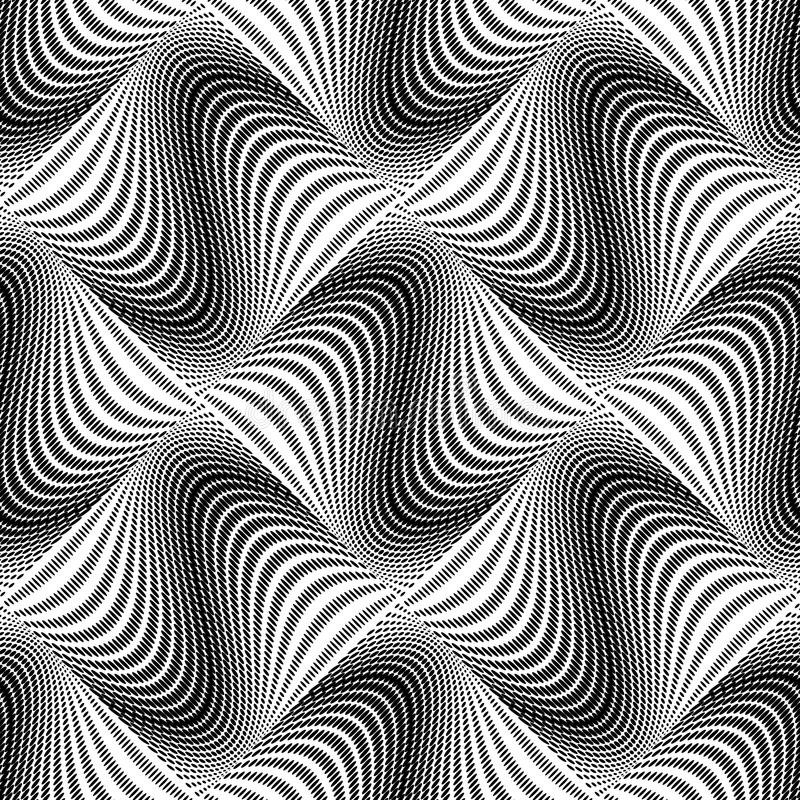 Download Άνευ ραφής μονοχρωματικό σχέδιο σημείων σχεδίου Διανυσματική απεικόνιση - εικονογραφία από καμπύλη, ωοειδής: 62716957