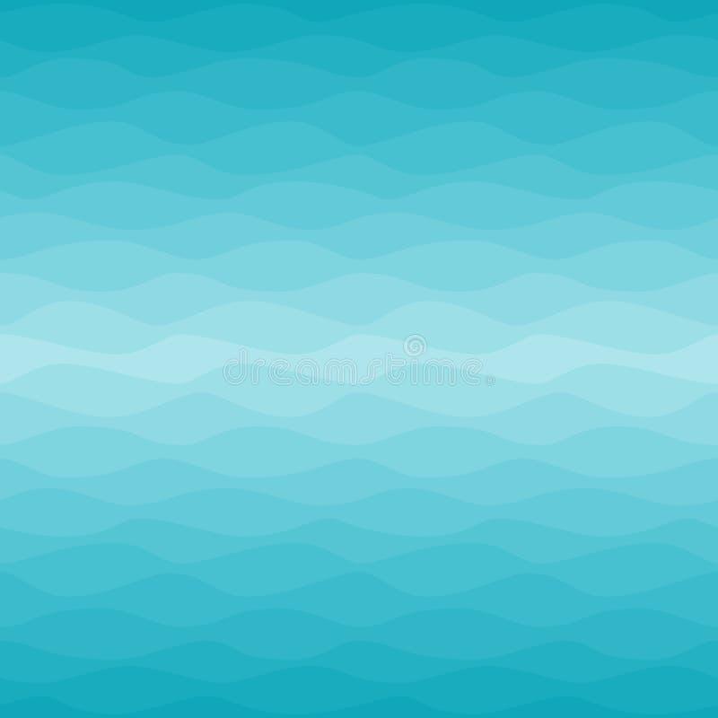 Άνευ ραφής ναυτικό σχέδιο ombre ελεύθερη απεικόνιση δικαιώματος