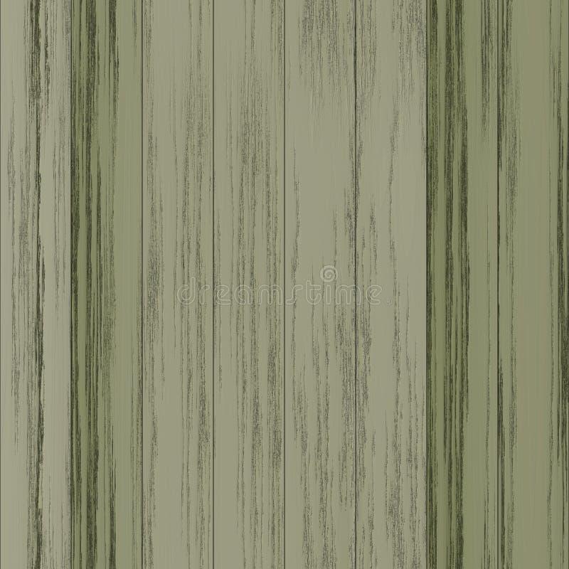 άνευ ραφής ξύλινος ανασκόπ& διανυσματική απεικόνιση