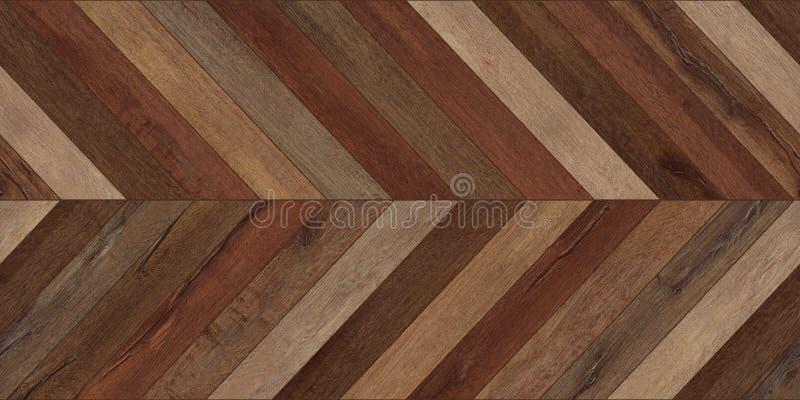 Άνευ ραφής ξύλινος παρκέ διάφορος καφετής σιριτιών σύστασης οριζόντιος στοκ εικόνα με δικαίωμα ελεύθερης χρήσης