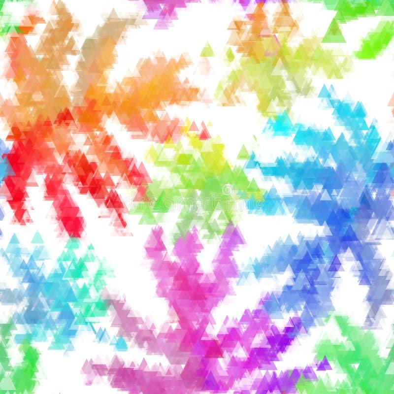 Άνευ ραφής οργανικό μαλακό χρωματισμένο σχέδιο υποβάθρου watercolor στο διάνυσμα απεικόνιση αποθεμάτων