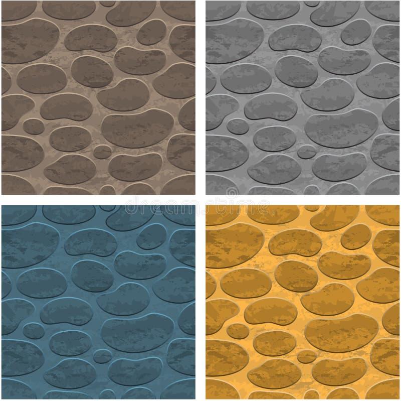 άνευ ραφής πέτρα ανασκόπηση&s διανυσματική απεικόνιση