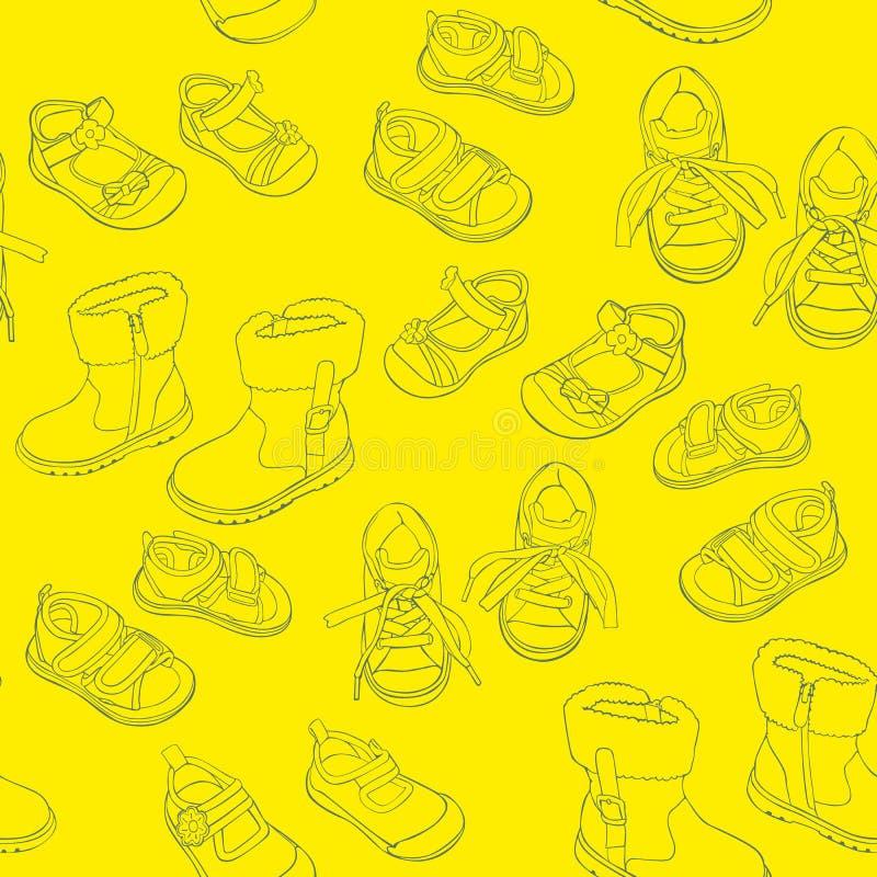 Άνευ ραφής παπούτσια ελεύθερη απεικόνιση δικαιώματος