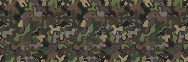 Άνευ ραφής στρατιωτικό διανυσματικό υπόβαθρο κάλυψης ελεύθερη απεικόνιση δικαιώματος