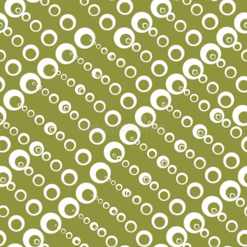Άνευ ραφής συστάσεις με τους κύκλους των διαφορετικών μεγεθών διανυσματική απεικόνιση