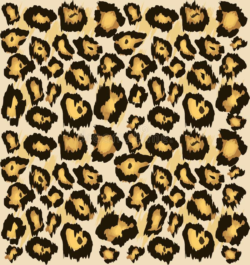Άνευ ραφής σχέδιο δερμάτων τσιτάχ λεοπαρδάλεων, Τυποποιημένο επισημασμένο υπόβαθρο δερμάτων λεοπαρδάλεων για τη μόδα, τυπωμένη ύλ διανυσματική απεικόνιση