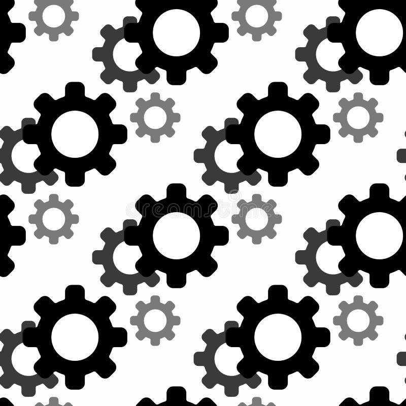 Άνευ ραφής σχέδιο εργαλείων η ανασκόπηση ανθίζει το φρέσκο διάνυσμα γάλακτος φύλλων απεικόνισης διανυσματική απεικόνιση