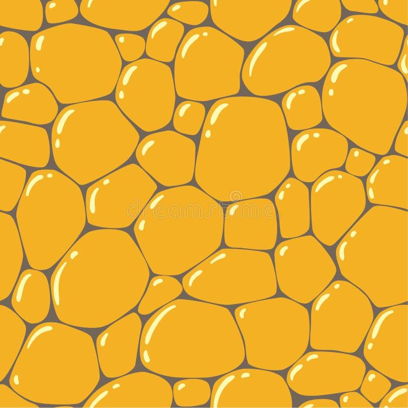 Άνευ ραφής σχέδιο ή υπόβαθρο των πετρών επίστρωσης απεικόνιση αποθεμάτων