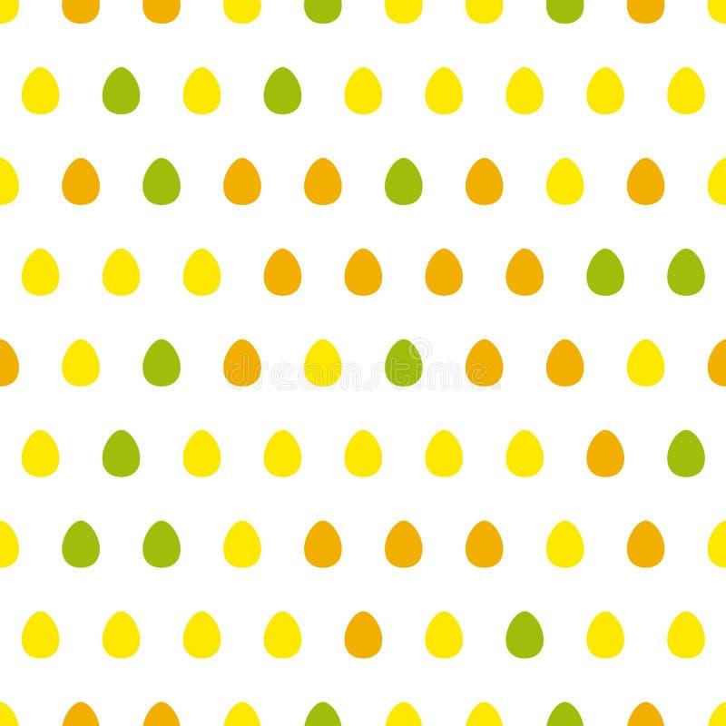 Άνευ ραφής σχέδιο αυγών απεικόνιση αποθεμάτων