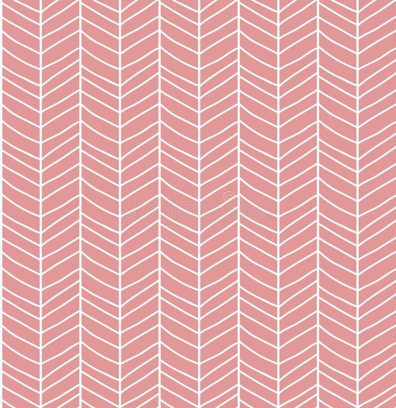 Άνευ ραφής σχέδιο με συρμένο το χέρι πλέγμα γραμμών σιριτιών διανυσματική απεικόνιση