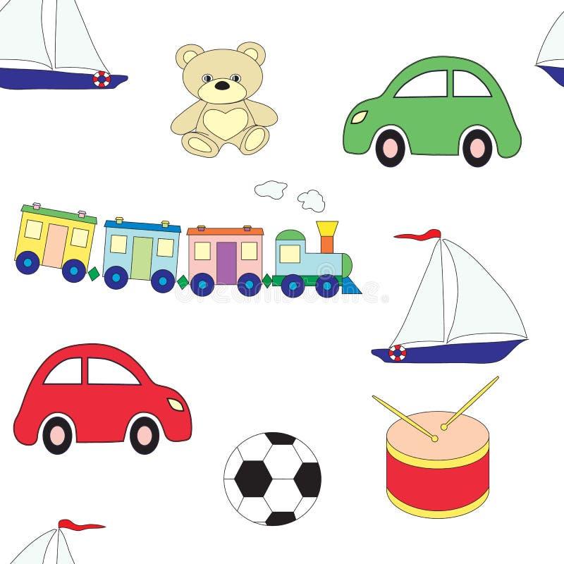Άνευ ραφής σχέδιο με τα παιχνίδια παιδιών ` s για τα αγόρια κρύβοντας διάνυσμα φιδιών εικόνων λαβυρίνθου κυνηγιού διανυσματική απεικόνιση