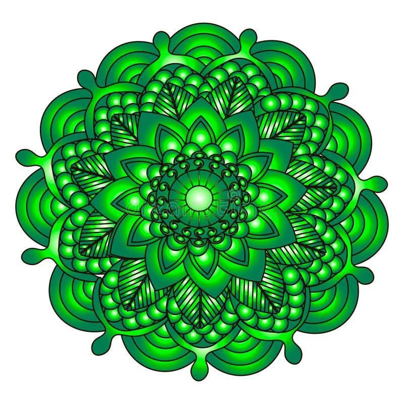 Άνευ ραφής σχέδιο στο ύφος του boho στοκ εικόνες