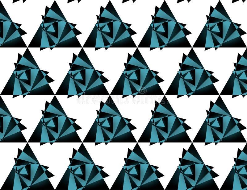 Άνευ ραφής σχέδιο τριγώνων, υπόβαθρο διανυσματική απεικόνιση