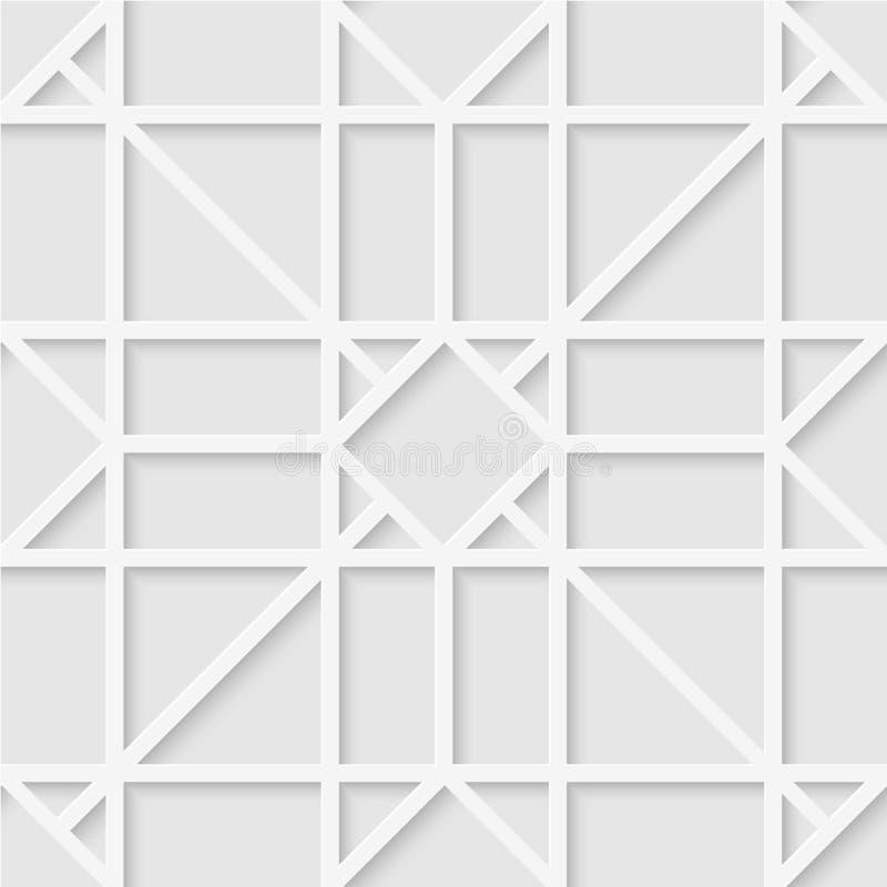 Άνευ ραφής σχέδιο των γραμμών και των μορφών ανασκόπηση μαλακή απεικόνιση αποθεμάτων