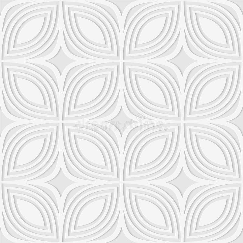 Άνευ ραφής σχέδιο των γραμμών και rhombuses E διανυσματική απεικόνιση