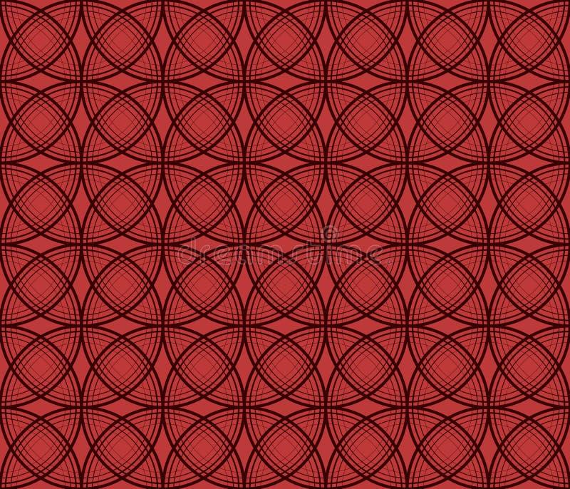 Άνευ ραφής σύσταση σε ένα κόκκινο υπόβαθρο διανυσματική απεικόνιση