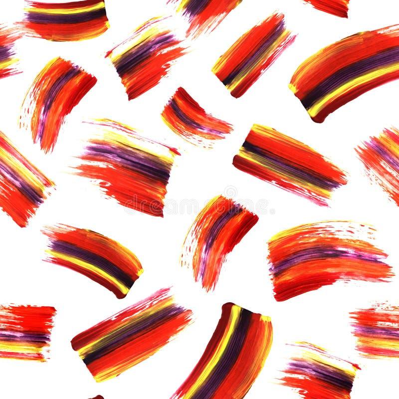 Άνευ ραφής σύσταση τέχνης Absrtract με τα κτυπήματα και τους λεκέδες βουρτσών acrilyc background hand painted Σύγχρονο σχέδιο λωρ στοκ εικόνες με δικαίωμα ελεύθερης χρήσης