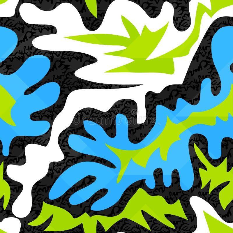 Άνευ ραφής σύσταση υποβάθρου γκράφιτι απεικόνιση αποθεμάτων