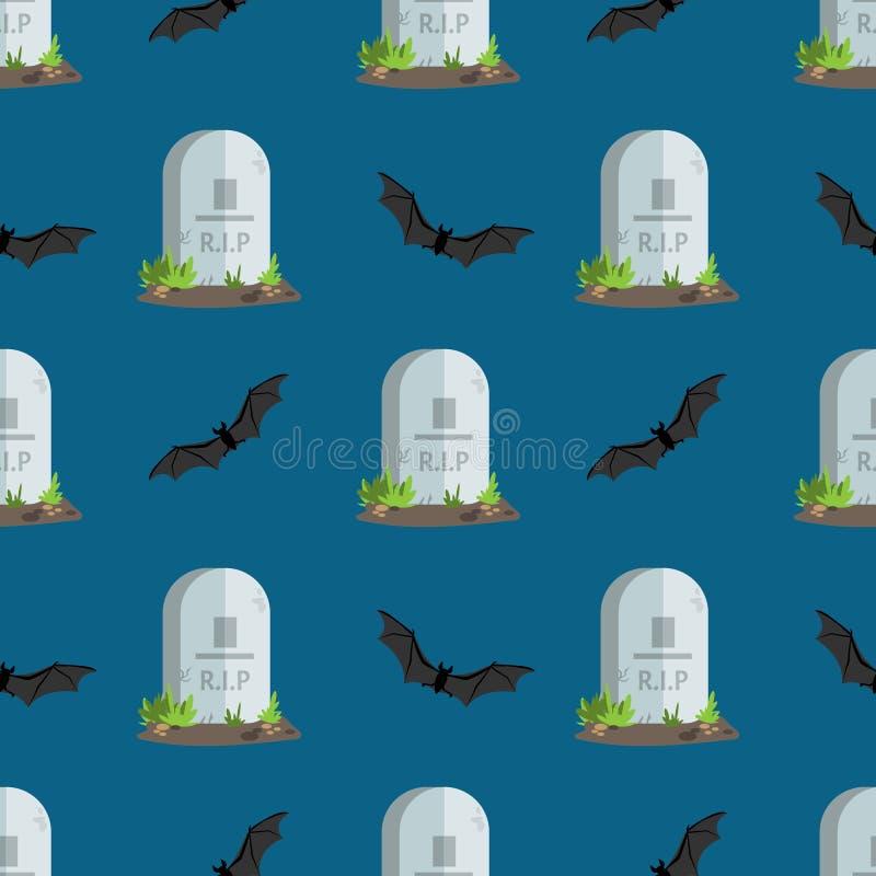 Άνευ ραφής ταφόπετρες σχεδίων αποκριών με το Ρ ? Κείμενο Π ελεύθερη απεικόνιση δικαιώματος