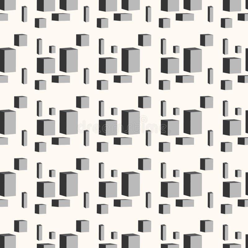 άνευ ραφής τετράγωνα προτύπων abstract background figures geometric Διανυσματικό EPS 10 ελεύθερη απεικόνιση δικαιώματος