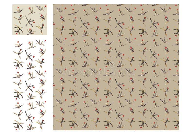Download άνευ ραφής τουλίπα ανασκό&p Διανυσματική απεικόνιση - εικονογραφία από αρκετά, ζωηρόχρωμος: 13177384